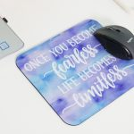 DIY Mouse Pad with Cricut Influsible Ink